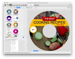Mac CD/DVD Label Maker screenshot 6