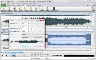 WavePad Free Audio, Music and Mp3 Editor screenshot 4