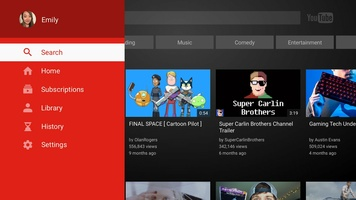 YouTube for Android TV screenshot 5
