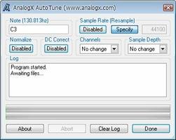 Autotune screenshot 2