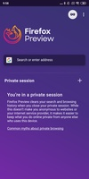 Firefox Preview screenshot 5