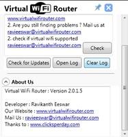 Virtual Wi-Fi Router screenshot 2