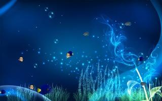 Ocean Adventure Aquarium Screensaver screenshot 2