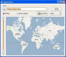GMapCatcher screenshot 2