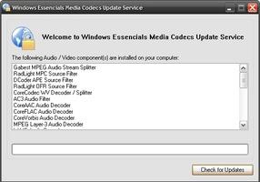 Windows Essentials Codec Pack screenshot 2