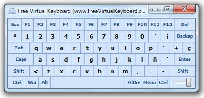 Free Virtual Keyboard screenshot 2