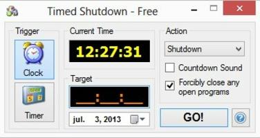 Timed Shutdown screenshot 2