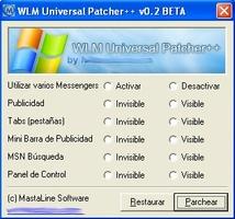 WLM Universal Patcher screenshot 2
