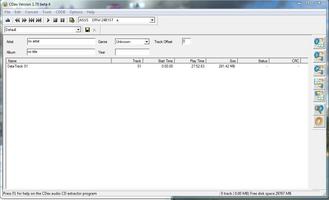 Cdex screenshot 2