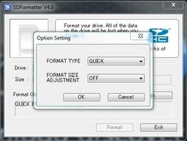SD Card Formatter screenshot 3