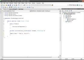 Visual C Sharp screenshot 3