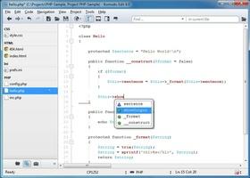 Komodo Edit screenshot 2