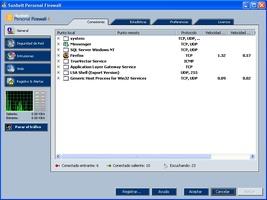 Sunbelt Personal Firewall screenshot 2