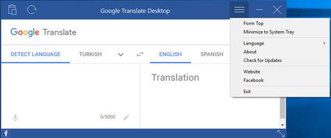 Google Translate Desktop screenshot 2