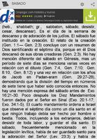 Diccionario Bíblico screenshot 6