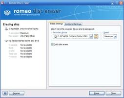 Romeo Burner screenshot 5