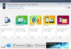 Sony PC Companion screenshot 4