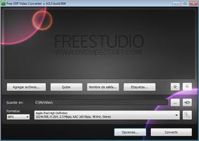 Free 3GP Video Converter screenshot 2