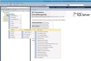 Microsoft SQL Server screenshot 2