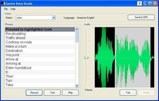 Garmin Voice Studio screenshot 2
