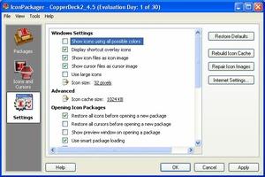 IconPackager screenshot 3