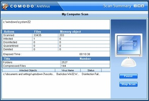 Comodo AntiVirus screenshot 5
