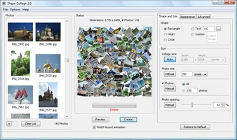 Shape Collage screenshot 2